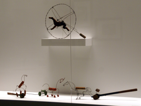 Calder-hinged horse fromToys