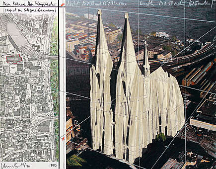 Christo_Mein_Koelner_Dom_Wrapped